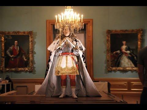Eröffnung Der Königlichen Paraderäume Augusts Des Starken