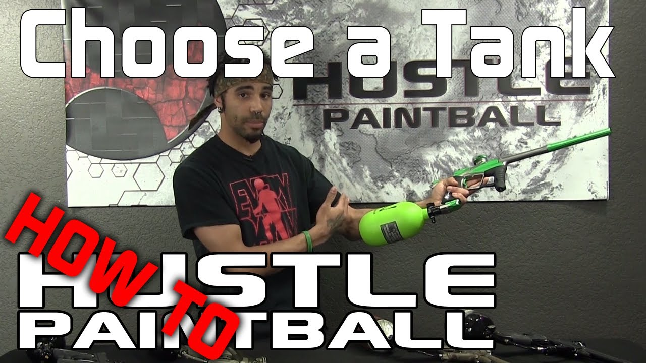 how to make a paintball tank