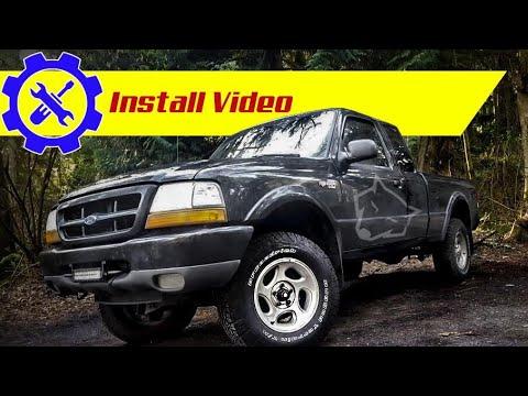 Ford Ranger Lift install