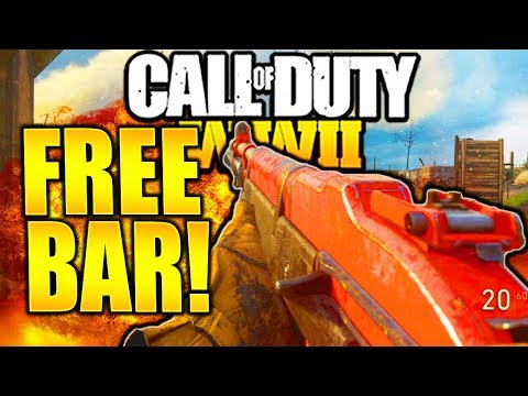 "NEW FREE BAR OLD CAPTAIN IS A BEST GUN IN CALL OF DUTY WW2! BAR ""OLD CAPTAIN"" BEST CLASS SETUP WW2!"
