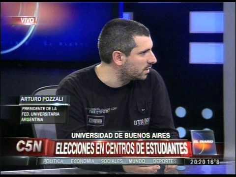C5N - EDUCACION: ELECCIONES EN EL CENTRO DE ESTUDIANTES DE LA UBA