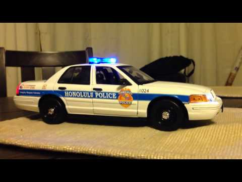 1/18 Honolulu Police Die cast Scale Replica