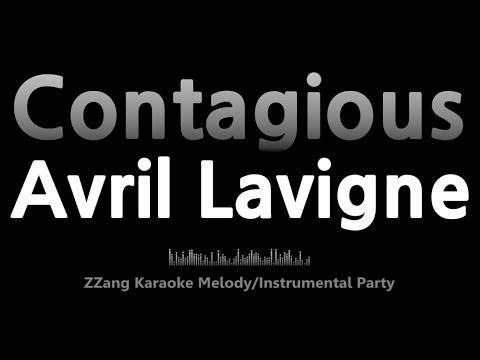 Avril Lavigne-Contagious (Instrumental) [ZZang KARAOKE]