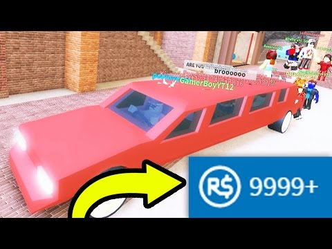 BUYING A LIMO FOR THE HOMIES!! | Roblox