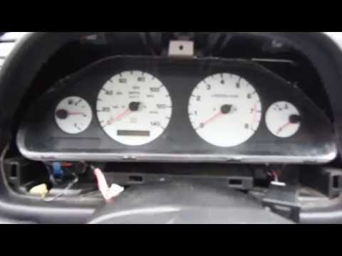 1998 Nissan Maxima - Dashboard Diagnostic Mode