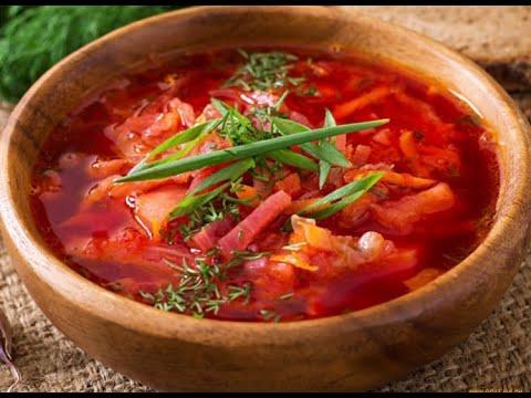 #борщ #наобед #первоеблюдо Борщ по - украински!Семейный рецепт!Потрясающий вкус!