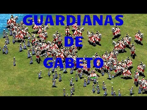 NUEVAS UNIDADES LAS GUARDIANAS DE GABETO DEL AGE OF EMPIRES 2 HD