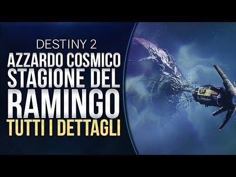 AZZARDO COSMICO e la STAGIONE del RAMINGO: TUTTI i DETTAGLI | DESTINY 2 thumbnail