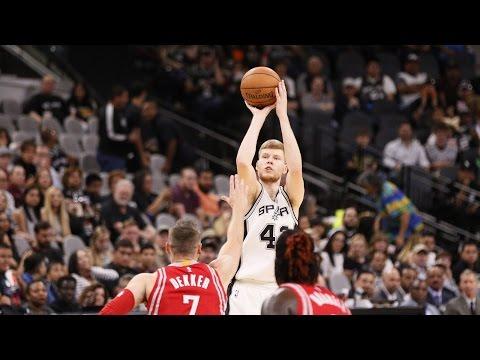 Davis Bertans 2016-2017 NBA Season Highlights
