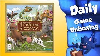 Race for the Chinese Zodiac - Daily Game Unboxing