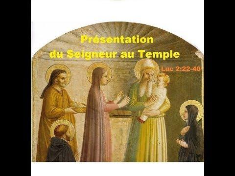 Présentation du Seigneur (Luc 2:22-40), Père Vincent-Marie - YouTube