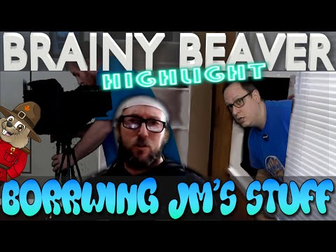 """Borrowing"" JM's Flat Earth Camera Gear | Brainy Beaver Highlight thumbnail"