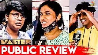 Master Public Review | Thalapathy Vijay, Vijay Sethupathi | Theatre Response & Reaction