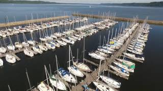 Lake City, MN Marina Drone Video