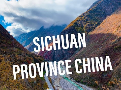 BEAUTIFUL  Tibetian Villages - Sichuan Province By Car In China (travel adventure)