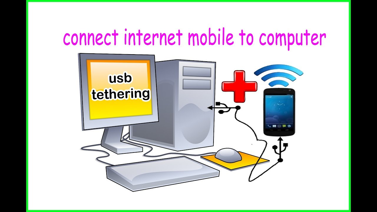 How To Use Internet From Android Phone To Pc Via Usb Tethering Youtube