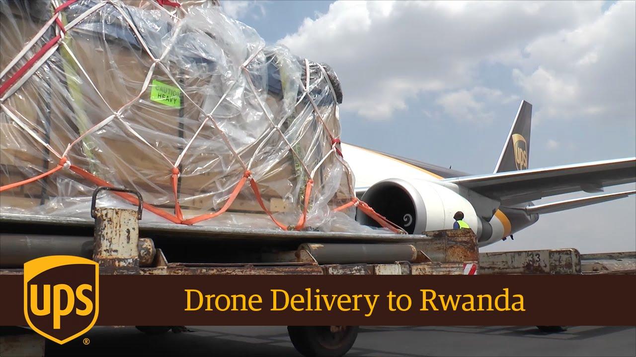 Delivering Drones To Rwanda