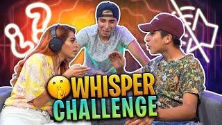 Whisper Challenge | Kim Shantal VS sus hermanos