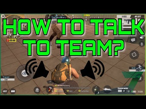 How To Talk To Teammates? | Rules Of Survival