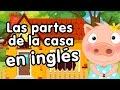Partes de la casa en inglés - Canciones infantiles - Aprender inglés