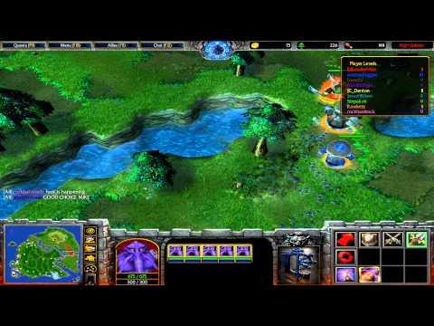 Warcraft 3 TFT - Darwins Island #1
