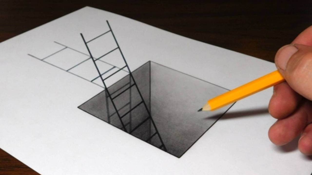 In an age where computers and software are easily able to be guided into creating optical illusions, the days of pressing your nose to a piece of paper and slowly walking backwards to .