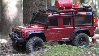 Завоеватель Рынка Трофи? ... Тест-Драйв Land Rover Defender Trx-4