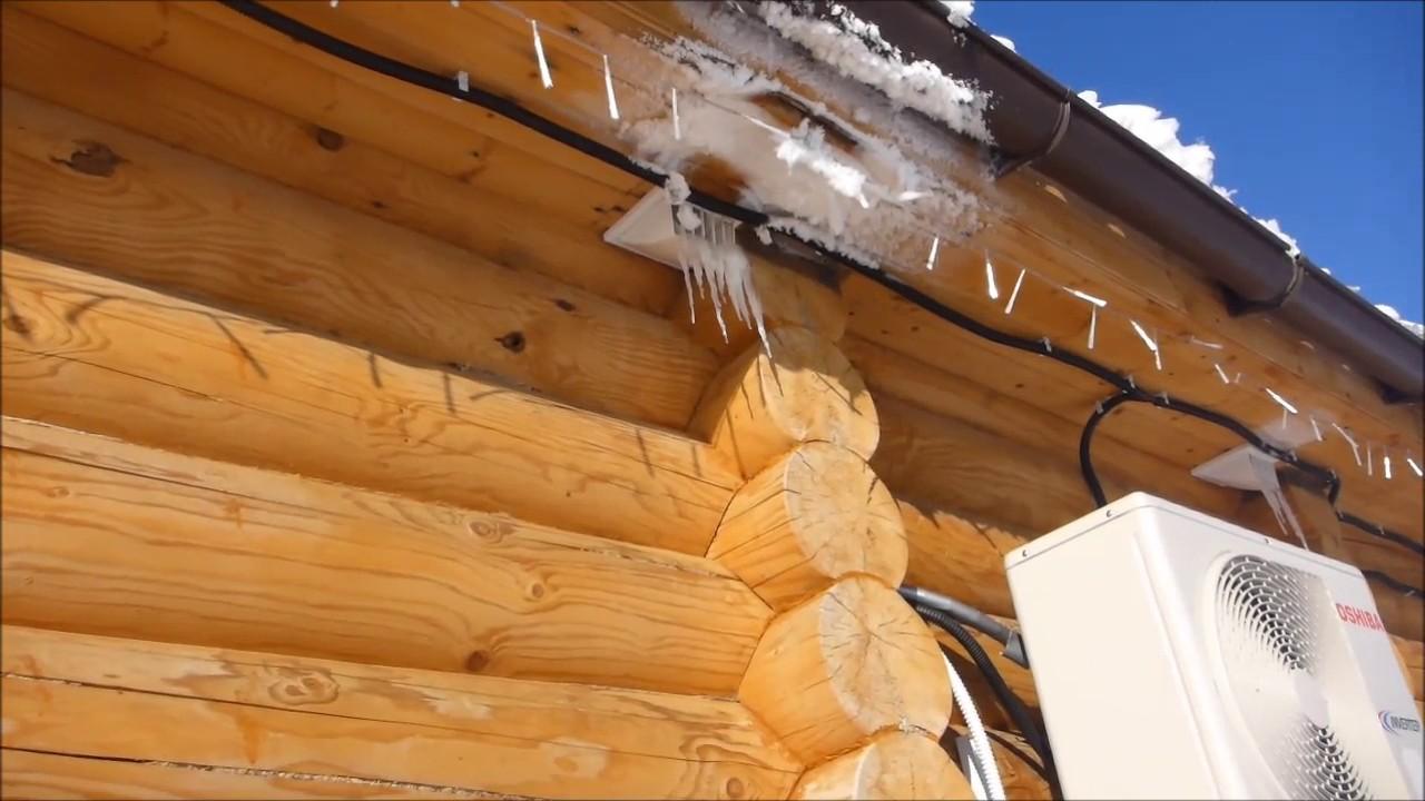 Нужна ли вентиляция в деревянном срубе? - Личный опыт - YouTube