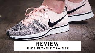 tuyo De todos modos Picante  Nike Flyknit Trainer | Review - YouTube