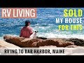 Acadia National Park Maine | Cadillac Mountain Sunrise | RV Living to Bar Harbor Maine