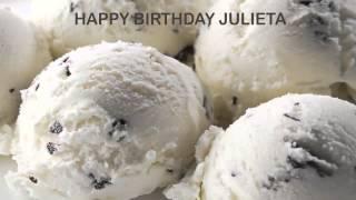 Julieta   Ice Cream & Helados y Nieves - Happy Birthday