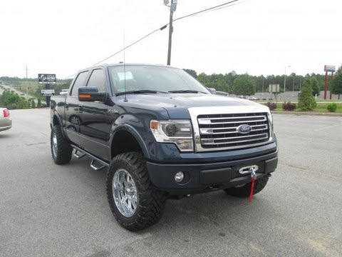 lifted 2013 ford f 150 lariat rivers edge conversion youtube. Black Bedroom Furniture Sets. Home Design Ideas
