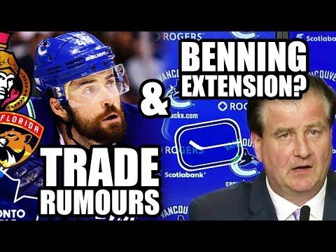Erik Gudbranson Trade Rumours (Senators, Leafs, Panthers) & Jim Benning's Pending Contract Extension