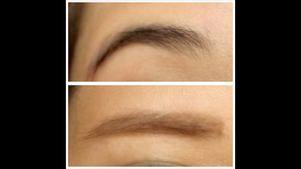 How To Lighten Your Eyebrows And Transform Your Arched Eyebrows To