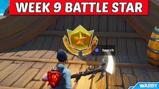 Secret Season 8 Week 9 Battlestar Location Guide (Discovery Challenges) - Fortnite Battle Royale
