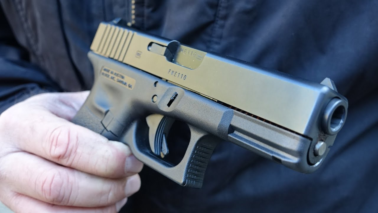 Glock 23 DPM Systems Recoil Reduction System