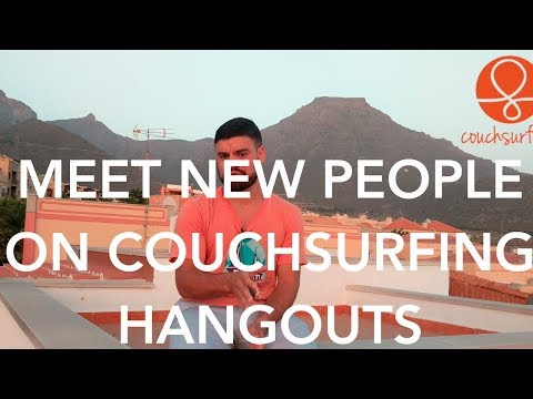 CouchSurfing Hangouts: The Tinder for Making Travel Friends