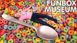 Stuck in a GIANT Bowl of Cereal!!