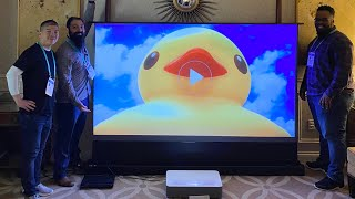 VAVA 4K UHD Laser TV Home Theatre Projector Overview | CES 2020