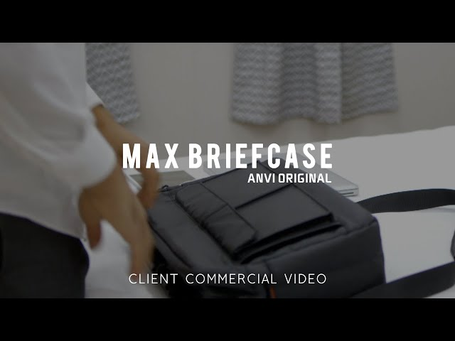 Max Briefcase Commercial Video - Made by Envy Creative