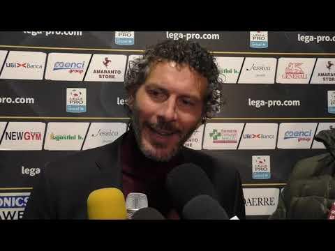 Arezzo-Carrarese 2-2, intervista ad Alessandro Dal Canto