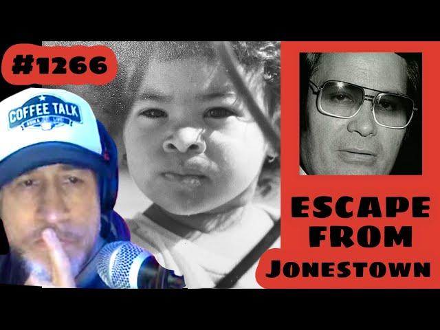 #1266 Jonestown Survivor Yolanda Williams! Jim Jones Part 1 | Coffee Talk ADIKA Live