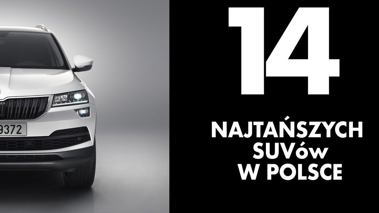 14 najtańszych SUVów w polskich salonach – #120 TOP10