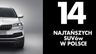 14 najtańszych SUVów w polskich salonach - #120 TOP10