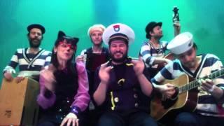 Kapitein Winokio- Draaien aan het grote roer uit Zingt 10 liedjes van de Notenboot