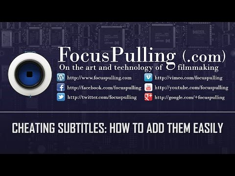Cheating Subtitles: How to Add Them Easily (and Qualify for Amazon Video Direct)