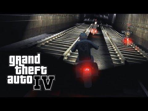 GTA 4 - #28: Perseguição Clássica no Metrô!!