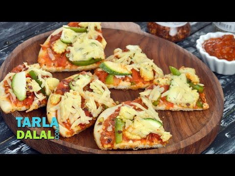 Pizza in a Pan by Tarla Dalal