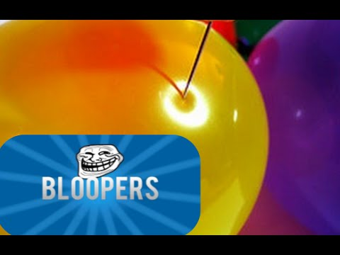 BloopersDeleted Scenes: 10 Creative Ways to Pop a Balloon