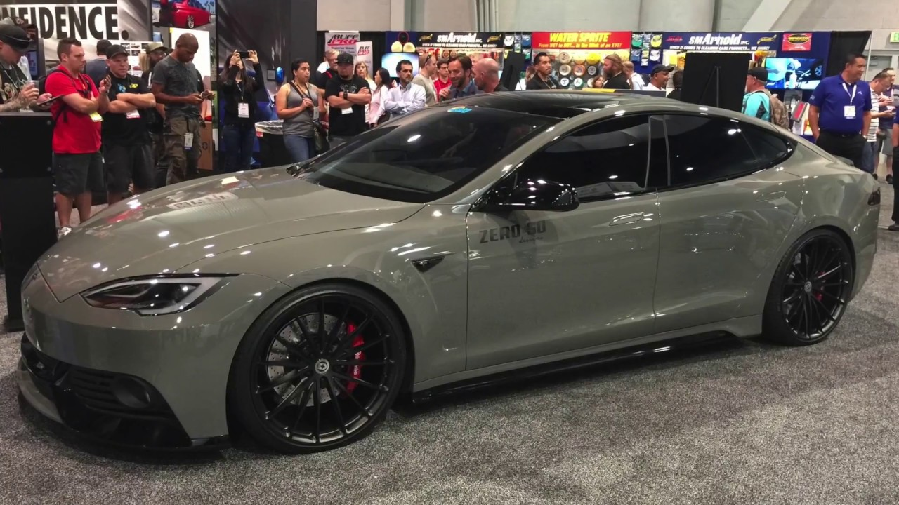 Tesla Model S Body Kit Shown At Sema 2017